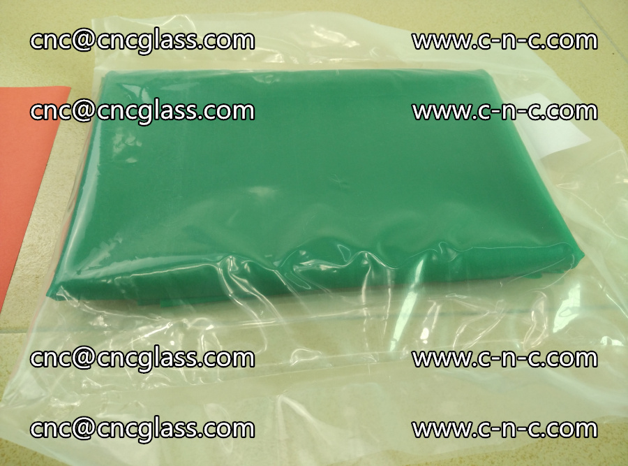 EVA glass interlayer film transparent color green (11)