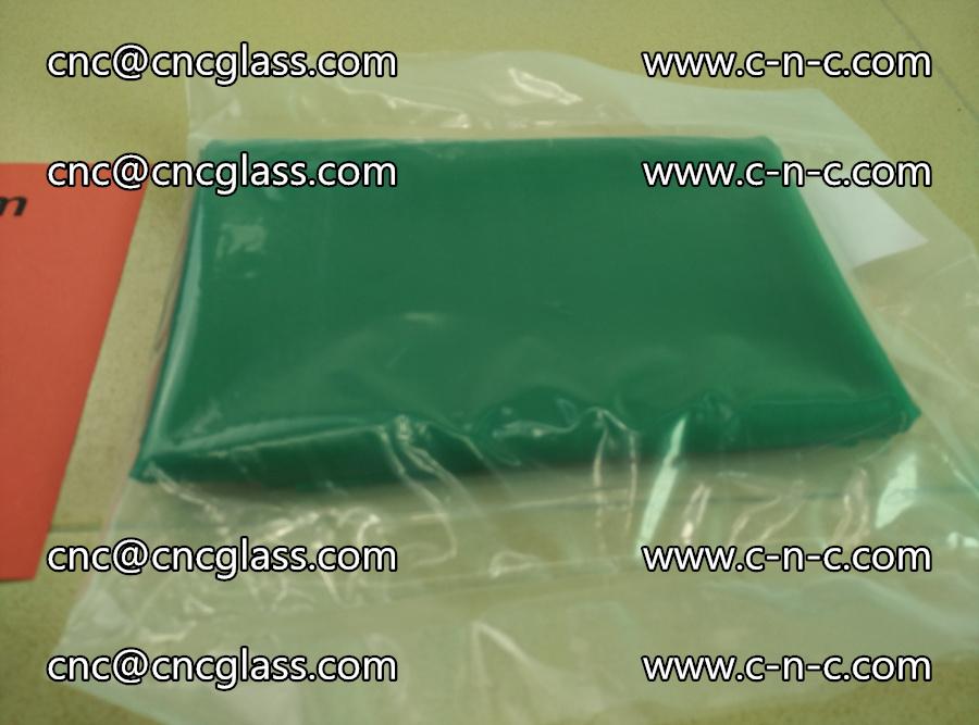 EVA glass interlayer film transparent color green (3)