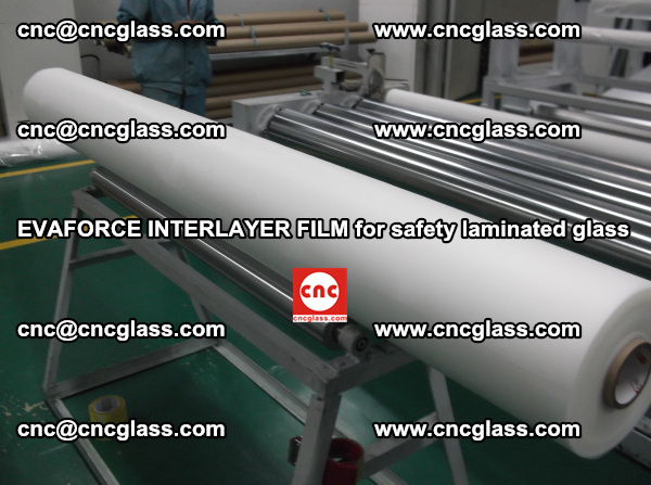 2450mm Width EVA Interlayer Film Offered by CNC GLASS INTERLAYER