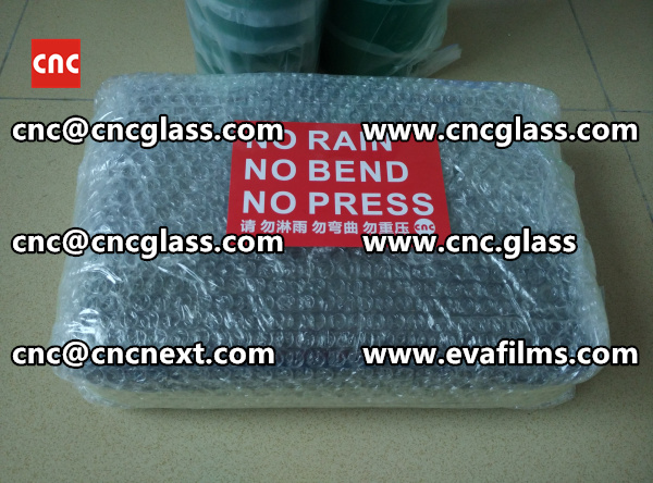 HEATING HOT KNIFE TRIMMING LAMINATED GLASS INTERLAYER REMAINS (4)