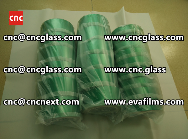 HIGH TEMP GREEN TAPE FOR SAFETY GLASS INTERLAYER TRIMMING (4)