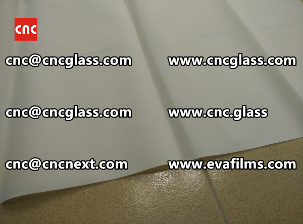 Laminated safety glass EVA-based densely cross-linked interlayer (18)