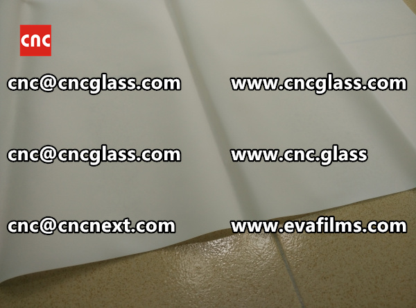 Laminated safety glass EVA-based densely cross-linked interlayer (19)