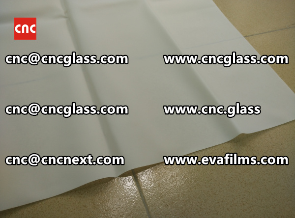 Laminated safety glass EVA-based densely cross-linked interlayer (22)