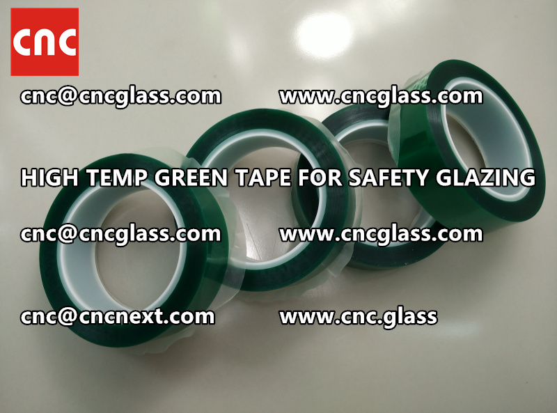 GLASS GREEN TAPE FOR EVA LAMINATION (4)