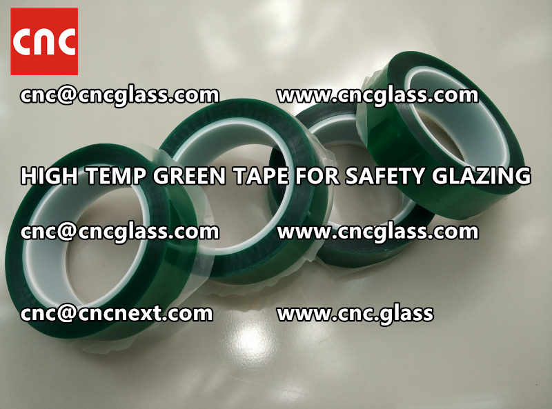 GLASS GREEN TAPE FOR EVA LAMINATION (8)