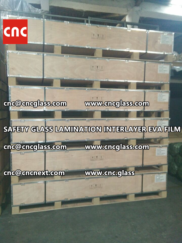 SAFETY GLASS LAMINATION INTERLAYER EVA FILM PACKING LOADING (13)
