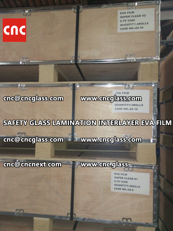 SAFETY GLASS LAMINATION INTERLAYER EVA FILM PACKING LOADING (16)