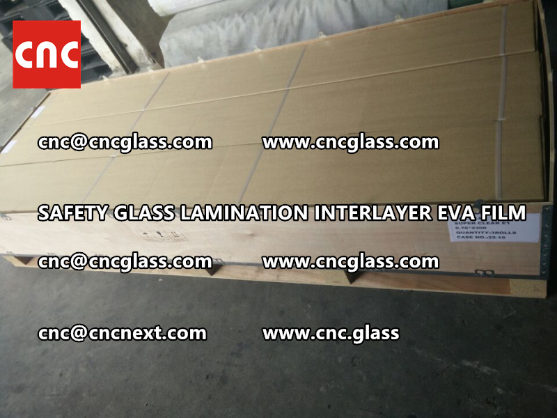 SAFETY GLASS LAMINATION INTERLAYER EVA FILM PACKING LOADING (18)