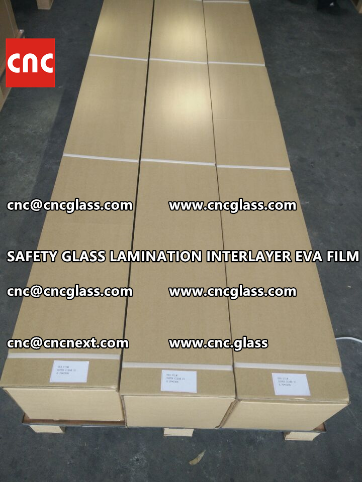 SAFETY GLASS LAMINATION INTERLAYER EVA FILM PACKING LOADING (24)