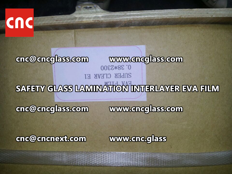 SAFETY GLASS LAMINATION INTERLAYER EVA FILM PACKING LOADING (8)