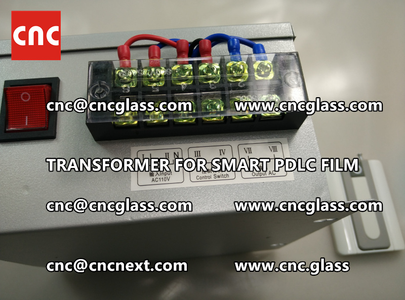 SMART GLASS FILM transformer power supply (5)