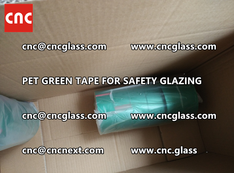 safety glazing GREEN TAPE for interlayer lamination (1)