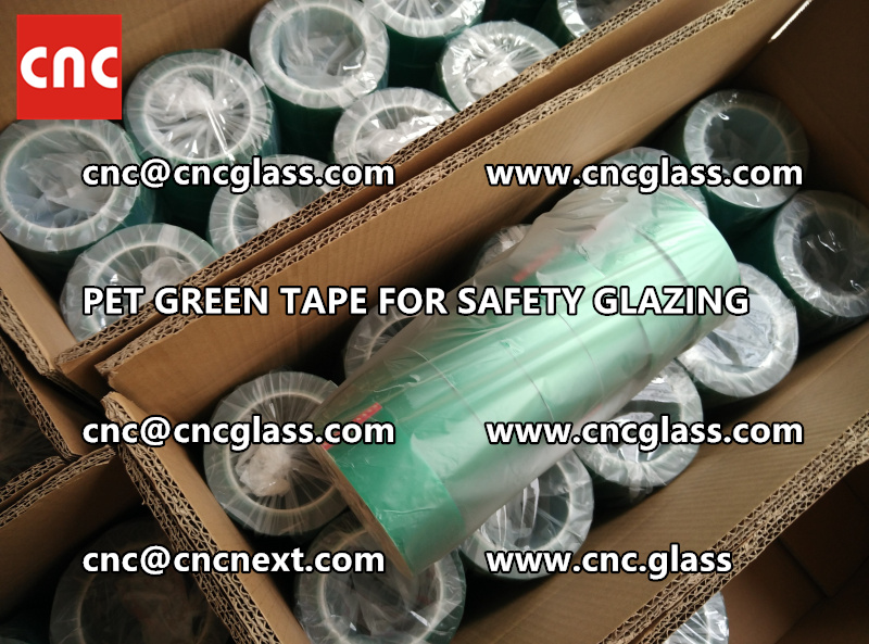 safety glazing GREEN TAPE for interlayer lamination (2)