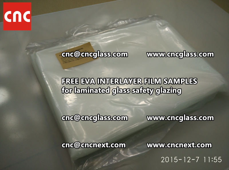 FREE EVA GLASS INTERLAYER samples for laminated glass (12)