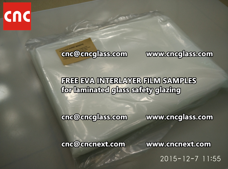 FREE EVA GLASS INTERLAYER samples for laminated glass (13)