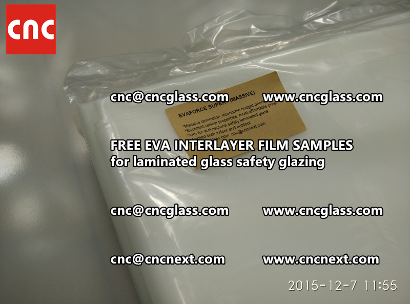 FREE EVA GLASS INTERLAYER samples for laminated glass (14)