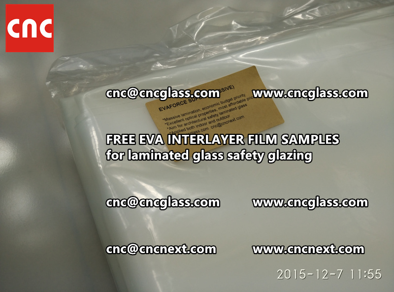 FREE EVA GLASS INTERLAYER samples for laminated glass (16)