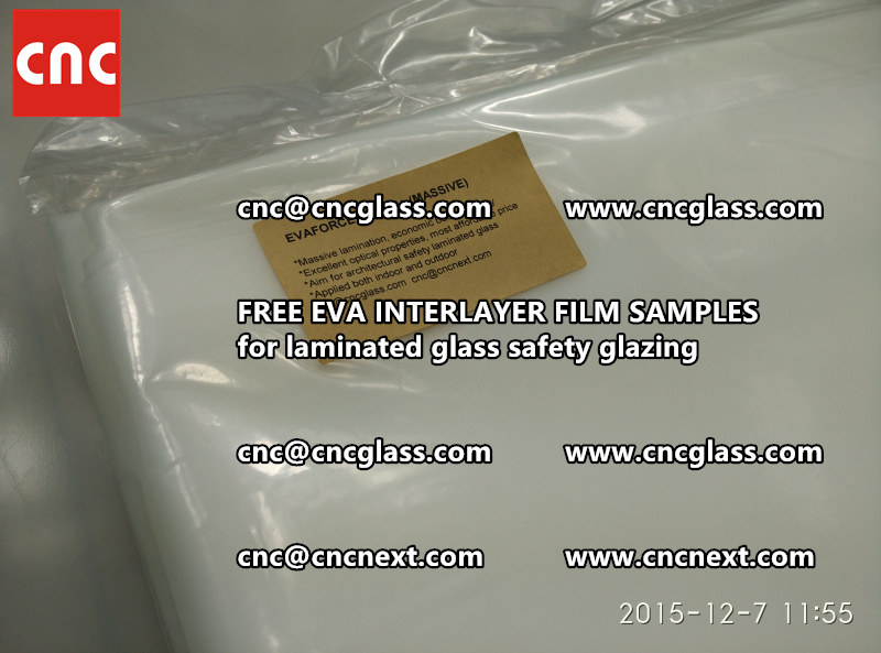 FREE EVA GLASS INTERLAYER samples for laminated glass (17)