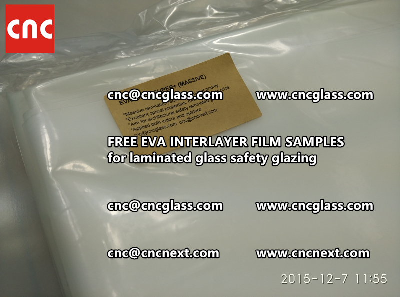 FREE EVA GLASS INTERLAYER samples for laminated glass (18)