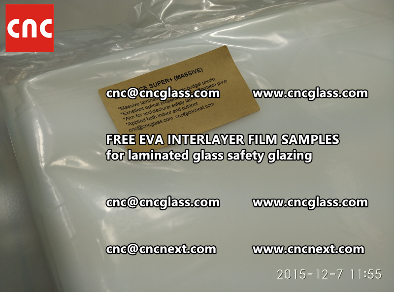 FREE EVA GLASS INTERLAYER samples for laminated glass (19)