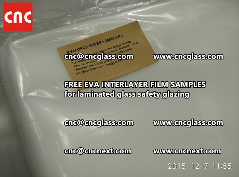 FREE EVA GLASS INTERLAYER samples for laminated glass (21)