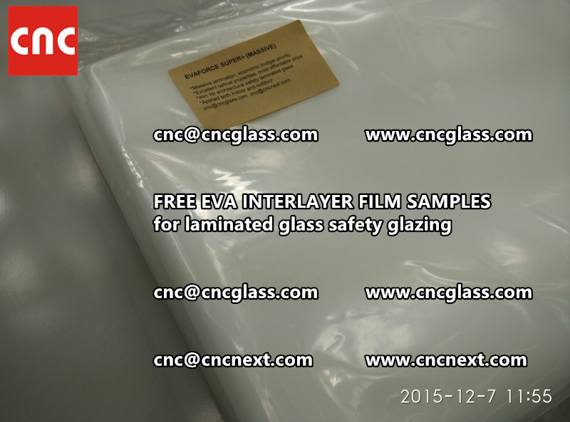 FREE EVA GLASS INTERLAYER samples for laminated glass (23)