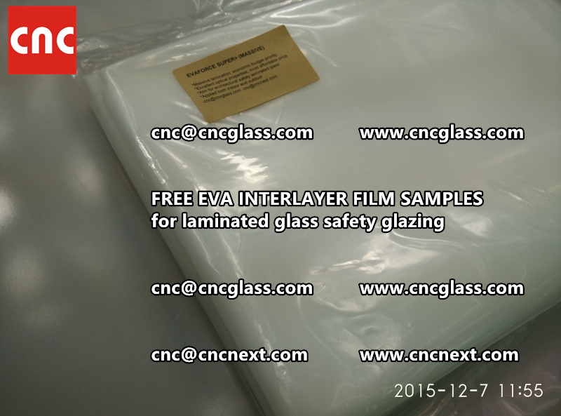 FREE EVA GLASS INTERLAYER samples for laminated glass (25)