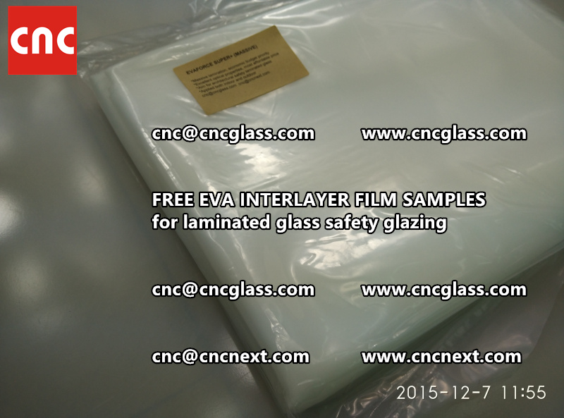 FREE EVA GLASS INTERLAYER samples for laminated glass (26)