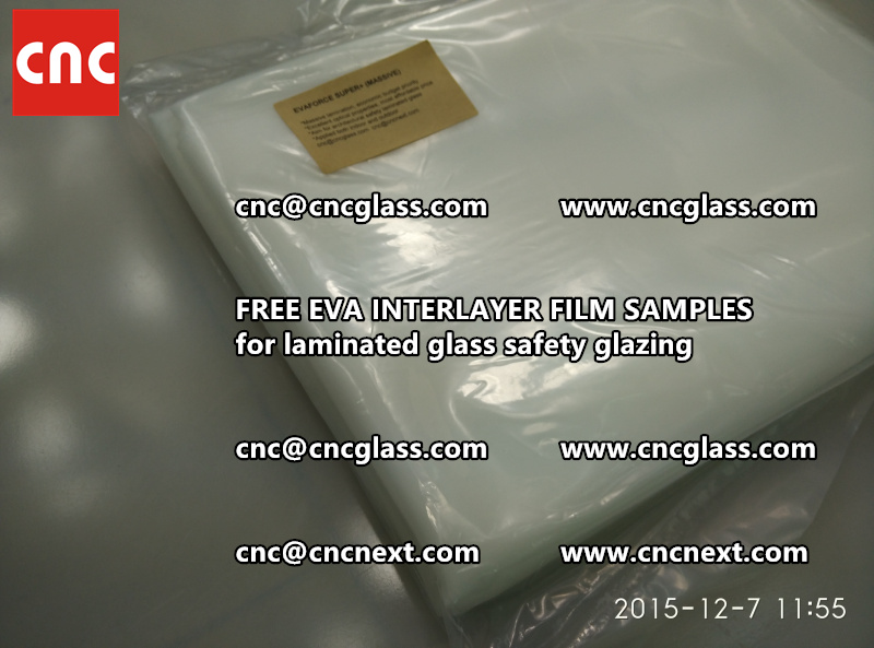 FREE EVA GLASS INTERLAYER samples for laminated glass (27)