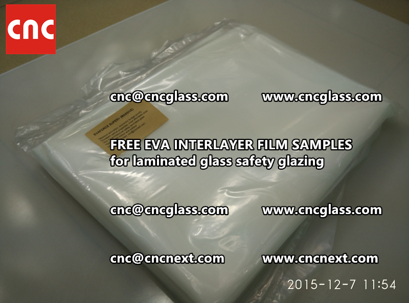 FREE EVA GLASS INTERLAYER samples for laminated glass (3)