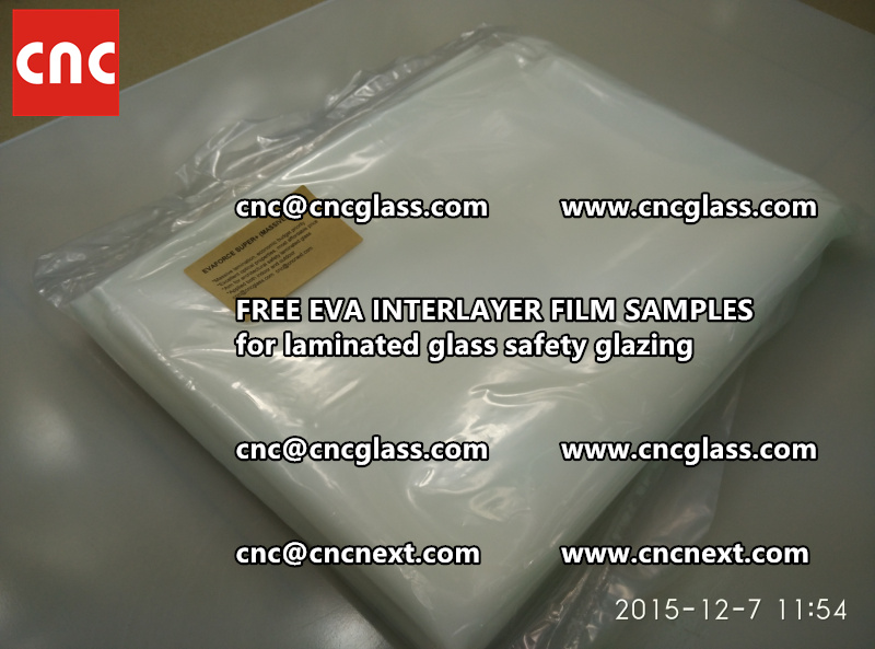 FREE EVA GLASS INTERLAYER samples for laminated glass (4)
