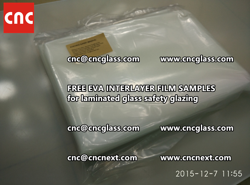 FREE EVA GLASS INTERLAYER samples for laminated glass (9)