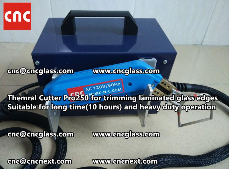 HEATING KNIFE HOT KNIFE THERMAL CUTTER for cleaning laminated glass edges (16)