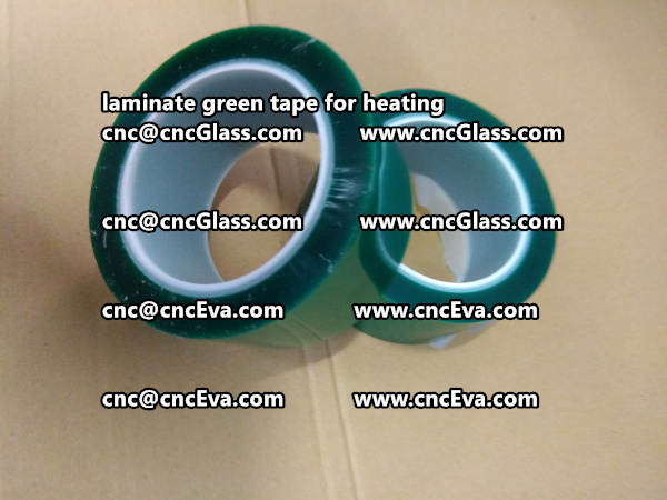 green tape PET TAPE for solar BIPV laminate (11)