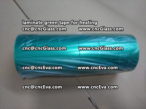 green tape PET TAPE for solar BIPV laminate (21)