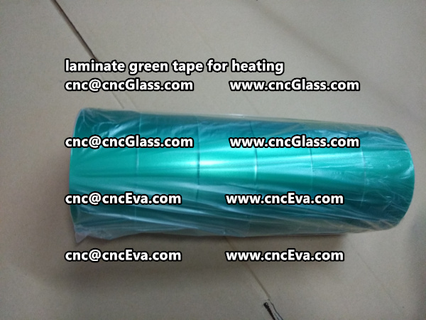 green tape PET TAPE for solar BIPV laminate (25)