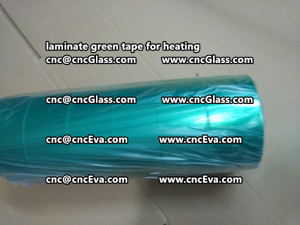 green tape PET TAPE for solar BIPV laminate (28)