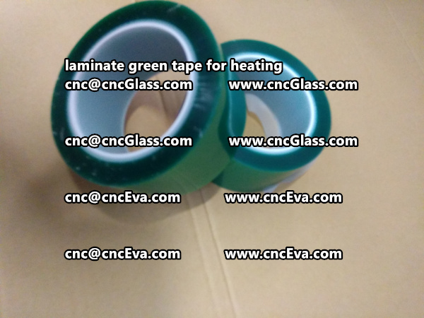 green tape PET TAPE for solar BIPV laminate (5)