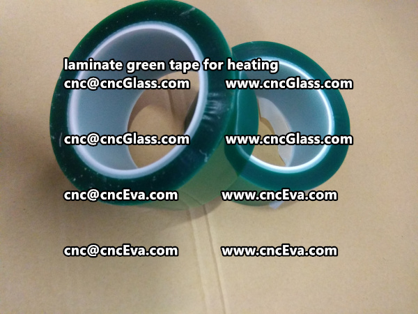 green tape PET TAPE for solar BIPV laminate (8)