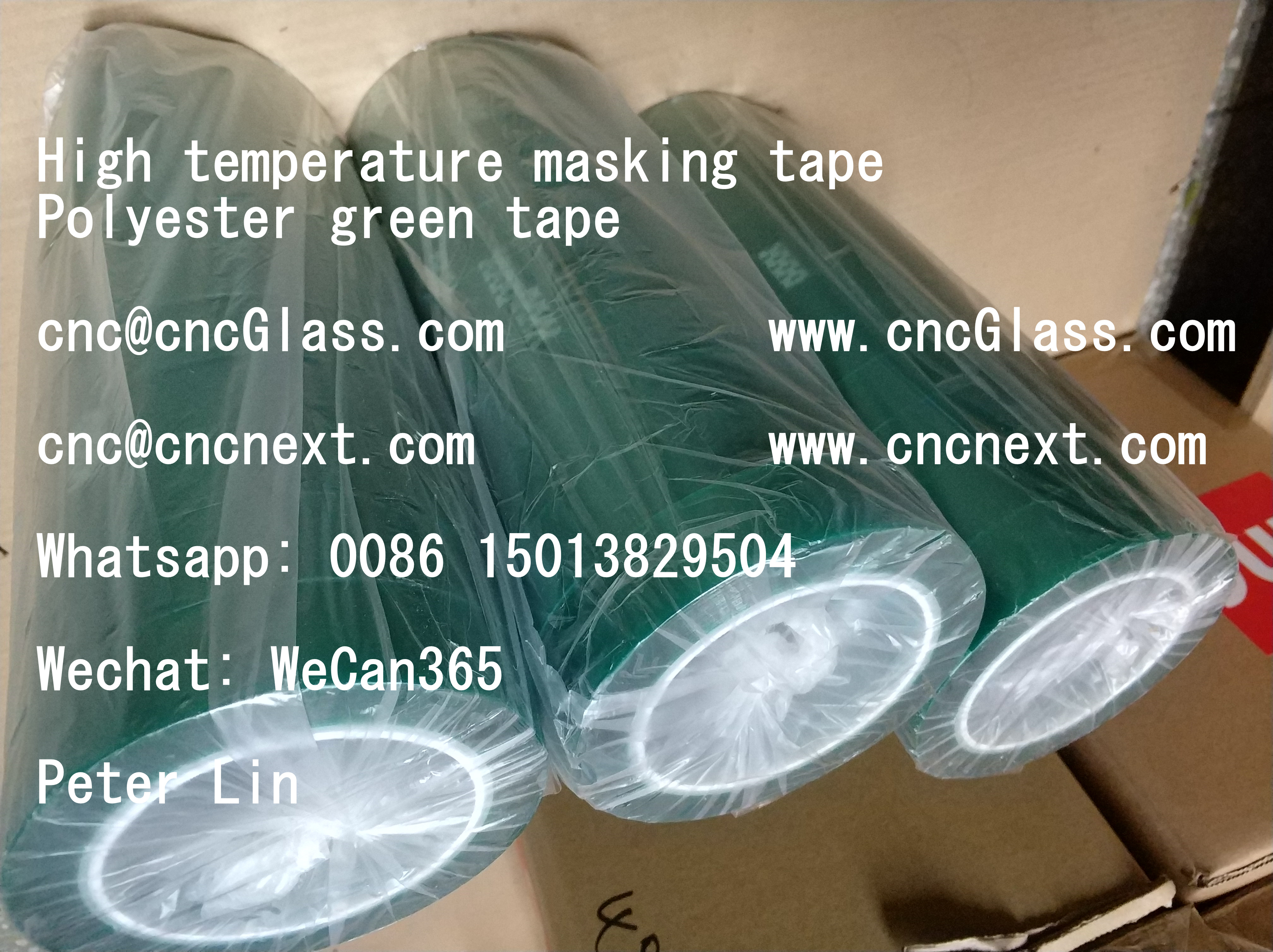PET film tape features as the following: high temperature resistance ...