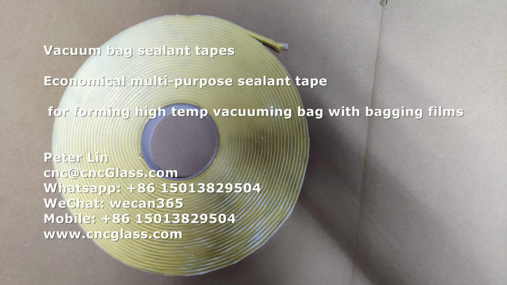 Nylon Film Forming Bag Vacuuming For Curved Bent Glass
